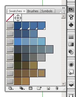Готовая цветовая палитра для сайта