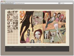 Сайт иллюстратора Ofra Amit