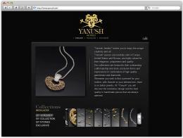 Сайт ювелира Yanush Gioielli