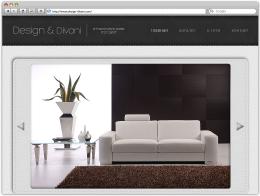Сайт сети салонов Design & Divani